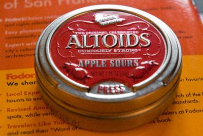 Didier Laget Altoids Apple Sour