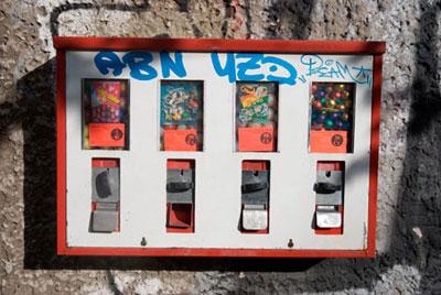 Kreuzberg : distributeur