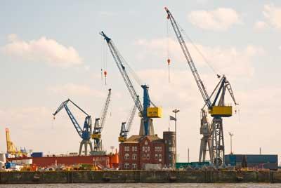 Didier Laget - Hambourg, le port